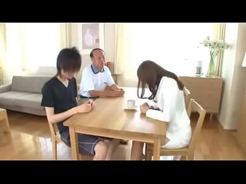 Asian Footsie Under Table