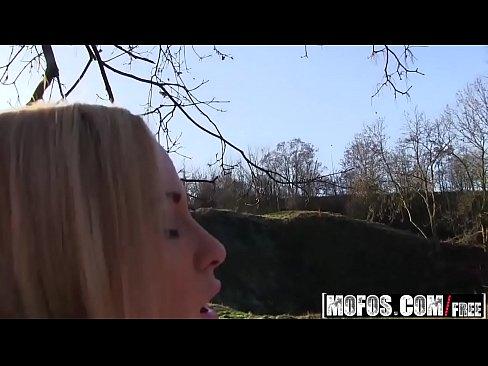 Mofos – Public Pick Ups – (Cristal Caitlin) – Euro Babe Rides Dick Outdoors