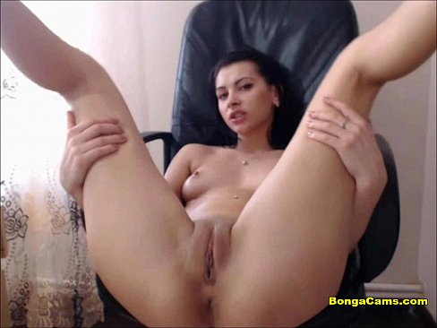 Delicious Brunette Teen Toying Her Perfect Butthole
