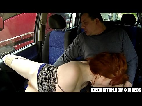 Hairy Ginger Doing Painful Anal For Cash