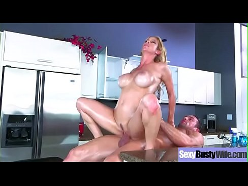 (Alexis Fawx) Busty Horny Housewife Get Nailed Hard Style On Cam Clip-01