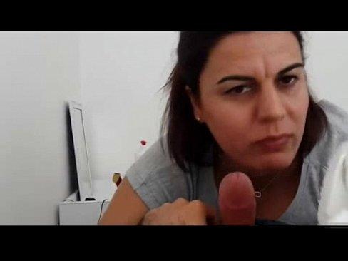 Marta chupando pau do empregado