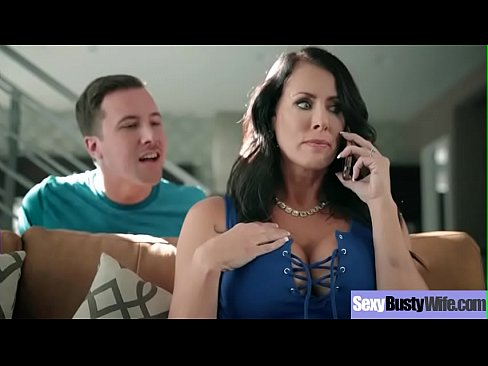 (Reagan Foxx) Cute Lovely Sexy Big tits Wife In hard Sex Action Clip-20