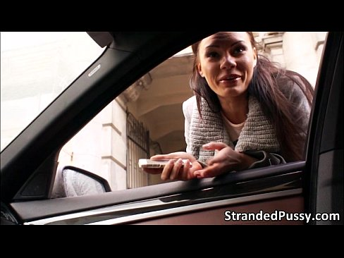 Stranger Ass Pounds Kitana In The Car