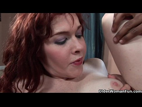 redheaded mom gets fucked by black cock