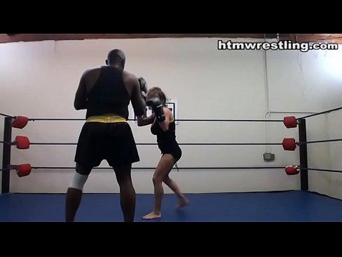 Interracial boxers