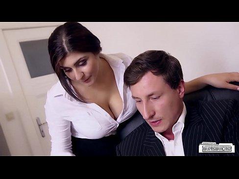 German Secretary Big Tits