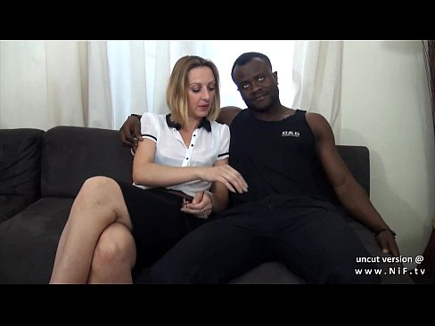 French mature sodomized by 2 black dicks