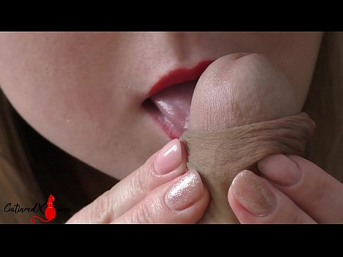 Horny Wife Sensual Blowjob and Cum in Mouth POV - Homemade