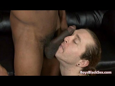 Thug ravaged by cock