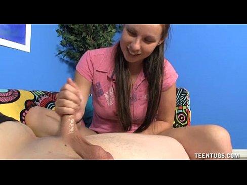 naughty teen vibrating and jerking