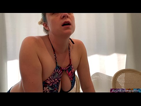 Stepmom helps her stepson study - Erin Electra