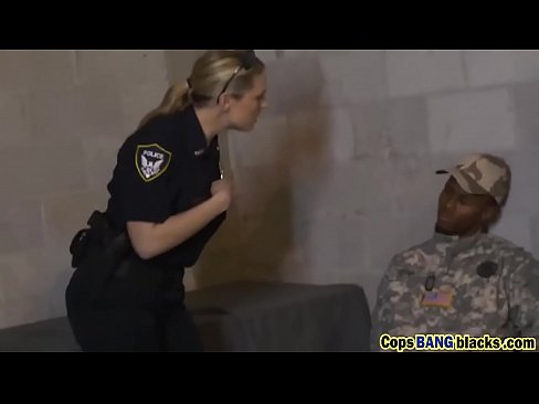 Fake black soldier fucks a female cop-used-as-a-fuck-toy-hd-72p-porn-3