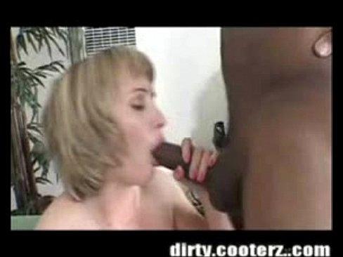 Hot Black Chick White Dick