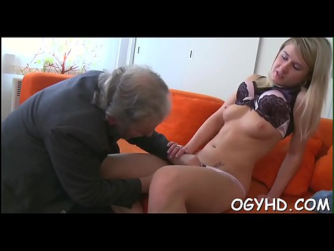 Teen gives a blow to an old fellow