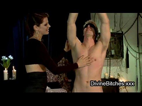 Dildo dom dominatrix fem man training woman
