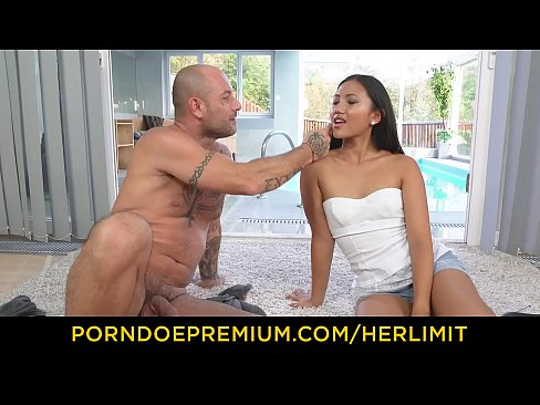 HER LIMIT – Petite Asian May Thai babe rough anal and mouth cumshot