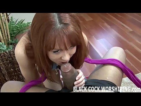 black mistress vanessa strapon worship