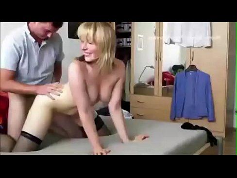 Blonde milf Homemade