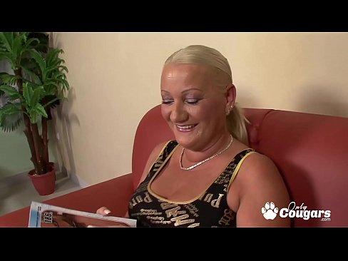 Chunky Mature Granny Has Her Asshole Ravished