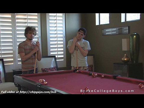 Billiard Boy Kaydin Blowjob Cody