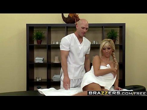 Brazzers - b. Got Boobs - Full Body Massage scene starring Tasha Reign and Johnny Sins