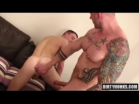 Muscle gays anal with anal cumshot