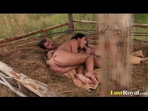 Fucking in the hay