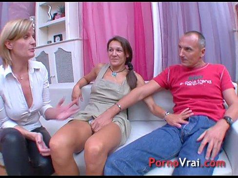 Amateur Couple Orgasm French