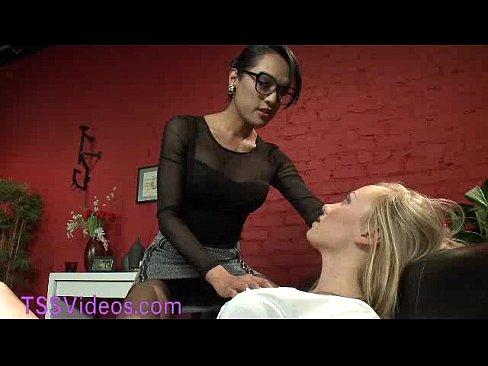 Lingerie Transexual bondage