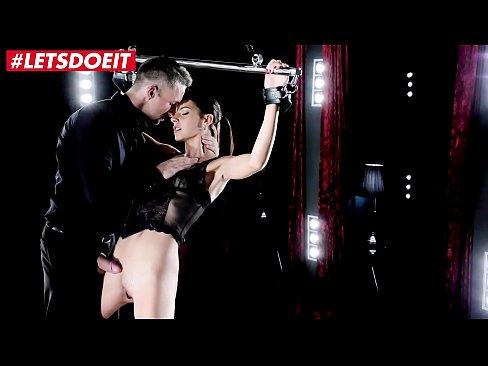 Lucky Lutro Fullfils Hot Babe's BDSM Fantasy (Candice Luca)