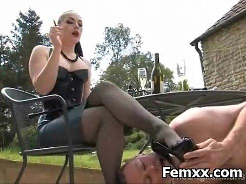 black femdom video