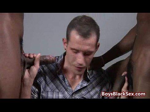 Huge Black Cock for Tiny White Boy Tube Video 23's Thumb