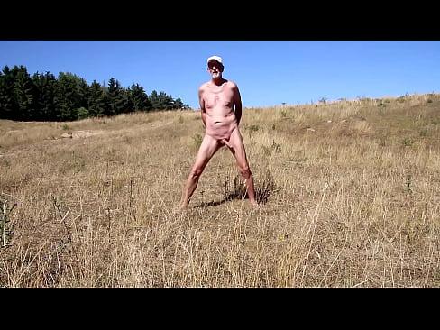 Nackedei nackt in der Natur's Thumb