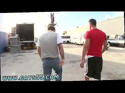 Gay Truck Stop porno sotilaallinen suihin