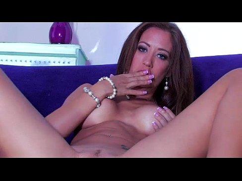 Capri Cavanni shows off her tight body and tight pussy