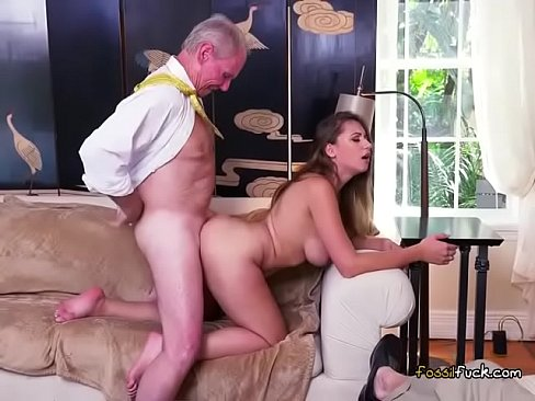 Teen Hottie Ivy Rose Enjoys Big Cock Of Old Guy