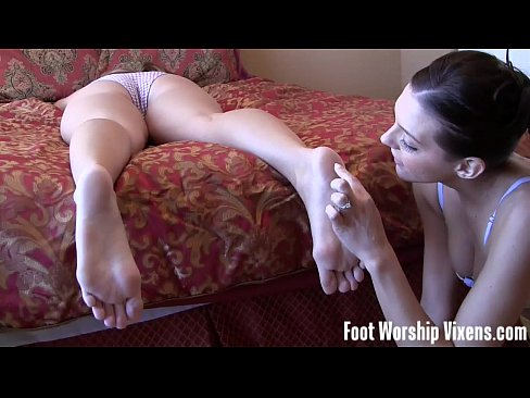 Foot fetish xxx video