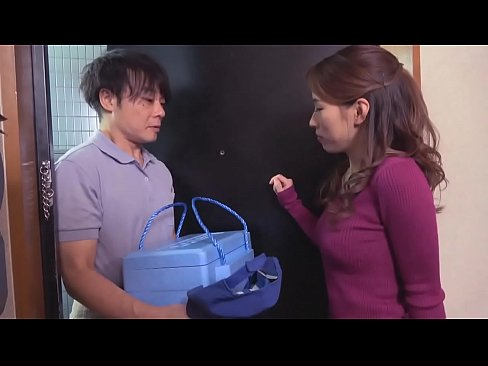 japanese mother seduces the delivery guy