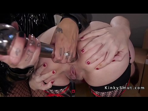 Mistress in fishnets anal fucks slaves xnxx indian porn videos