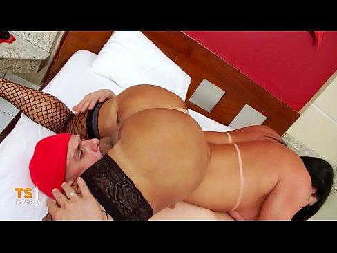 Big tits latina tranny fucked