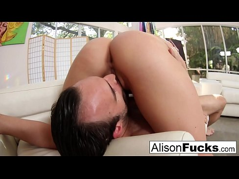 Hard fucking with stacked Alison Tyler and a big cock