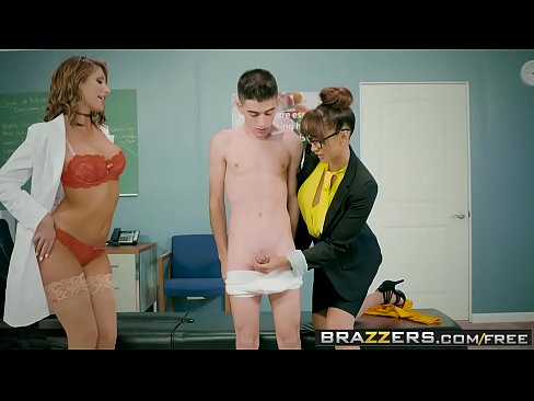 Brazzers - Big Tits at School -  A Tip To The School Nurse scene starring August Ames