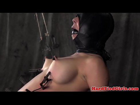 Mask hooded nipple tortured sub punished xnxx indian porn videos