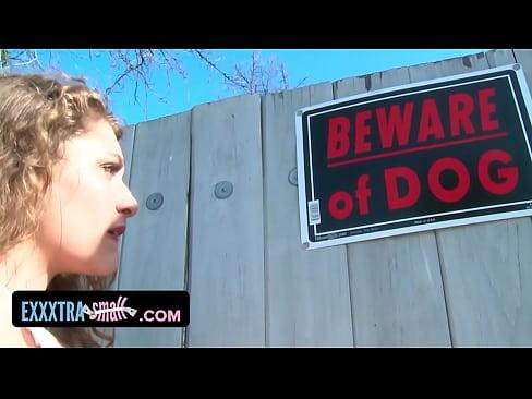 image Exxxtrasmall caged teen fucks a big cock