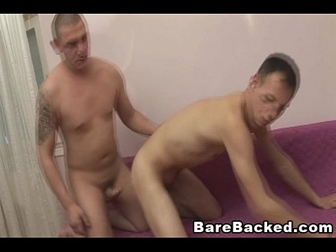 Heated bareback sex with my gay lover