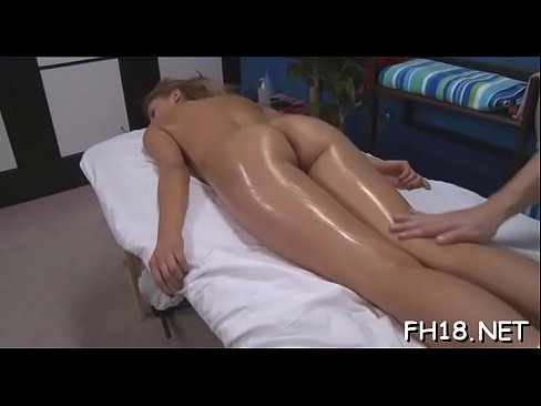 gorgeous hottie gets a hard fuck after a carnal massage