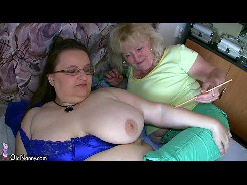 Old Hairy Pussy Masturbation