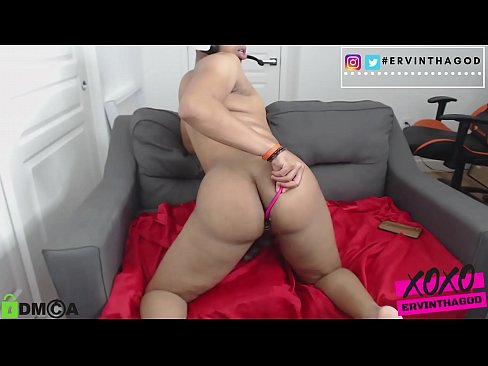 jerkoff on webcam with lovense in ass and cumshot