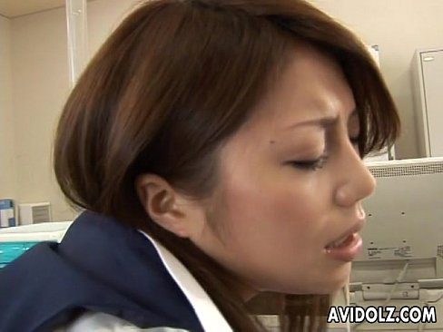 XVIDEO Asian bitch getting fucked in the office so hard